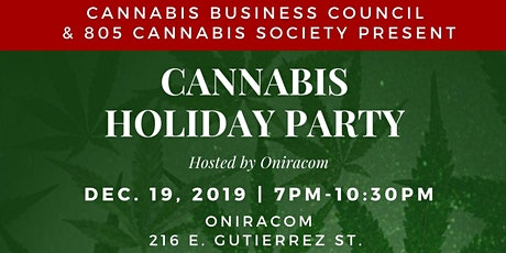 CANNABIS HOLIDAY PARTY SPONSORSHIP tickets