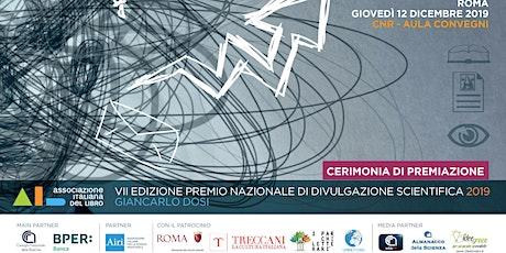 Premio Nazionale di Divulgazione Scientifica 2019 | Giancarlo Dosi biglietti