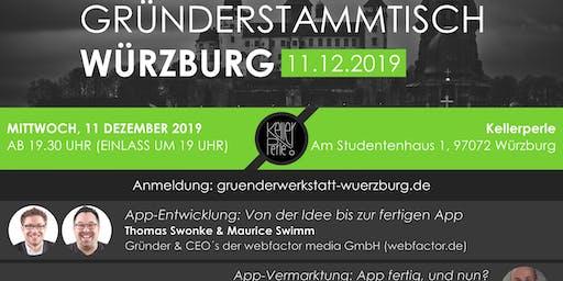Gründerstammtisch Würzburg 11. Dezember 2019