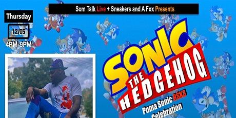 Puma x Sonic RSX3 Sneaker Meet and Greet and Sonic Gaming Competition Tickets