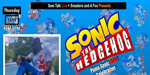 Puma x Sonic RSX3 Sneaker Meet and Greet and Sonic Gaming Competition