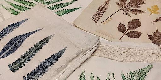 Festive Botanical Printmaking