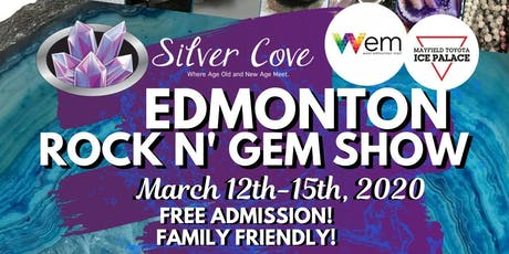 Edmonton Spring Rock N' Gem Show tickets