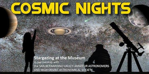 Cosmic Nights February 2020: Star Parties at the San Bernardino County Museum