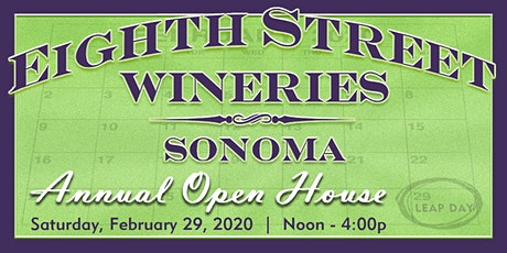 2020 Eighth Street Wineries Annual Open House tickets
