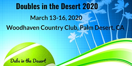 Doubles in the Desert 2020 tickets