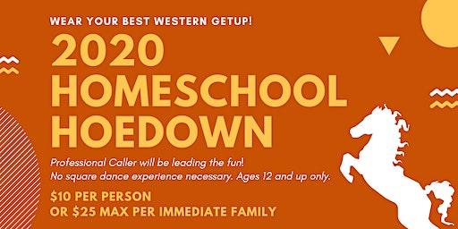 2020 Homeschooler Hoedown