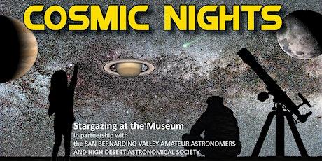 Cosmic Nights August 2020: Star Parties at the San Bernardino County Museum tickets