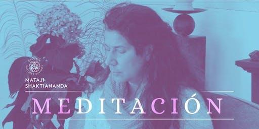 Meditación con Mataji Shaktiananda | Encuentros Maestros