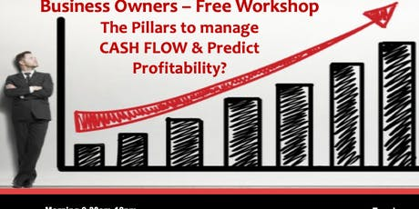 How do you Manage Cash Flow and grow profits in your Business? tickets