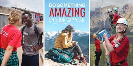 International Gap Year - Palmerston North Info Night March 2020 tickets
