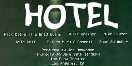 HOTEL - A Variety Show tickets