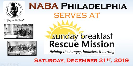 NABA Philly serves at Breakfast Rescue Mission
