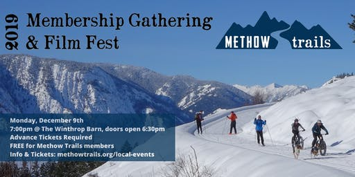 Methow Trails Membership Gathering & Film Fest
