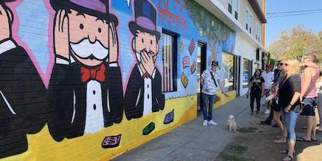 Melrose Street Art Tour with An Artist 12/14 tickets