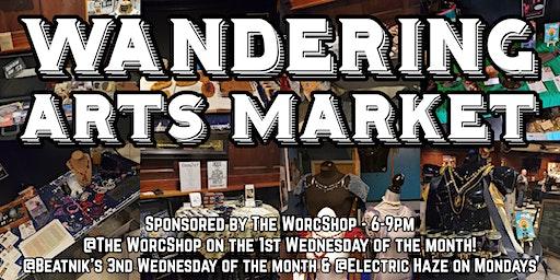 Wandering Arts Market @ Beatniks 2.19.20