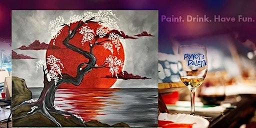 Japanese Crimson Moon with Bottomless Mimosas at the Bar