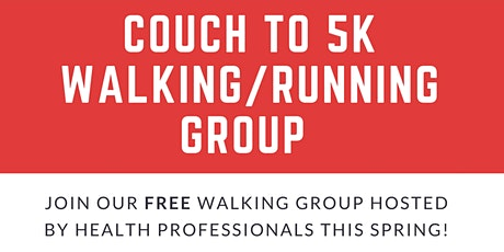 Couch to 5K walking/running group tickets