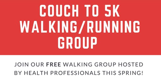 Couch to 5K walking/running group