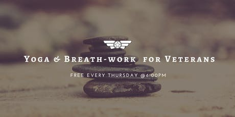 Breath-work for Veterans (Online Session)  tickets