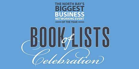 North Bay Business Journal Book of Lists celebration tickets