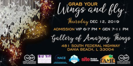 GRAB YOUR WINGS & FLY - 2019 South Florida Industry Holiday Party! tickets