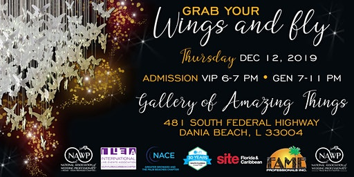 GRAB YOUR WINGS & FLY - 2019 South Florida Industry Holiday Party!