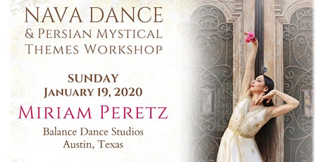 Miriam Peretz Persian Dance Workshop tickets