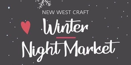 New West Winter Arts & Crafts Night Market - Wine, Beer, and Art tickets