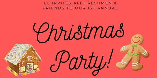 LINK CREW PROUDLY HOSTING OUR 1ST ANNUAL CHRISTMAS PARTY