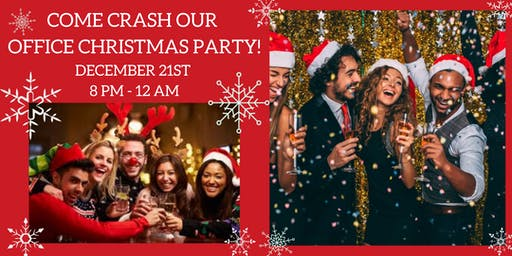 Come Crash Our Office Christmas Party!