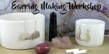 Silver Earring Making Workshop tickets