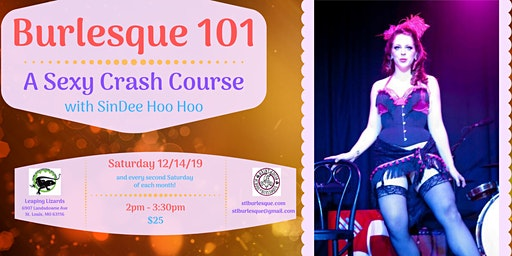Burlesque 101 with SinDee Hoo Hoo - A Sexy Crash Course (December)