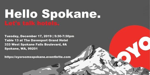 OYO Rooms, Hello Spokane!