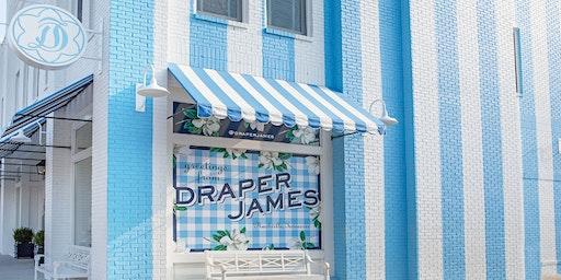 Sewing Down South Pillow Party at Draper James Atlanta