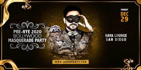 Pre-NYE 2020 Bollywood Masquerade Party in San Diego tickets