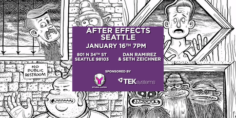 After Effects Seattle - Character Animator tickets
