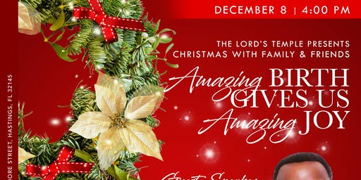 The Lord's Temple Presents Christmas with Family and Friends, Featuring the HCM Mass Choir