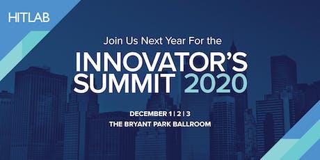 HITLAB Innovator's Summit NYC 2020 tickets