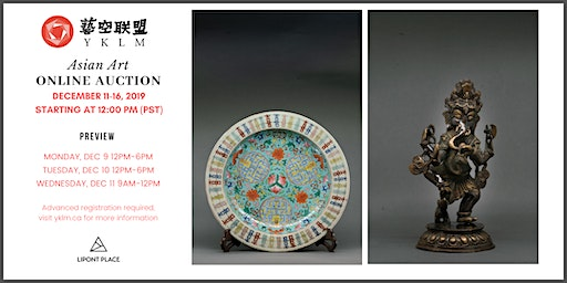 Asian Art Online Auction & Preview