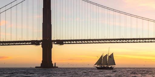 New Year's Day 2020 Sunset Sail on San Francisco Bay