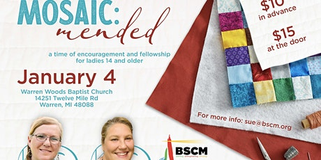 MOSAIC: Mended tickets