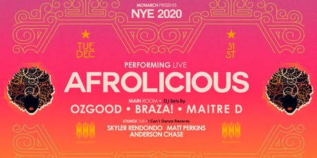 Afrolicious (Live) ~ New Year's Eve 2020 tickets