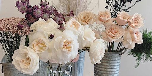 Floral Design Workshop w/ Brunette Blossoms!