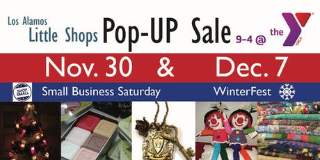 """Holiday Shopping at the Y's """"Little Shops"""" Pop-UP Sale tickets"""
