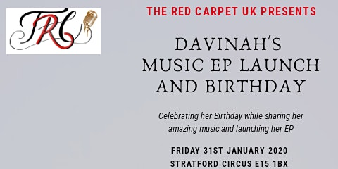 The Red Carpet Presents Davinah Music EP Launch