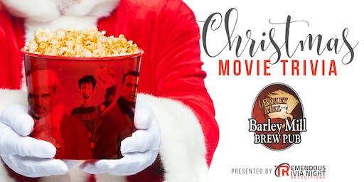 Christmas Movie Trivia Night at the Barley Mill, Penticton!
