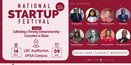 NATIONAL STARTUP FESTIVAL tickets