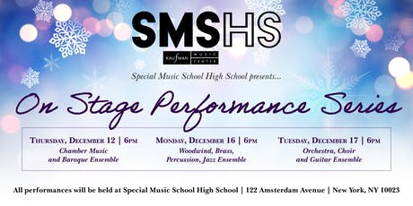 Special Music School High School On Stage Concerts tickets