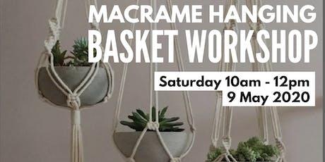 Macrame Hanging Basket workshop tickets